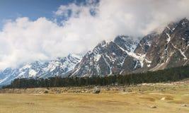 Долина Yumthang, северный Сикким, Индия Стоковое фото RF