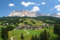 Доломиты в северной Италии стоковое фото rf