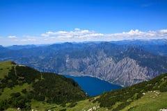 Доломиты - Lago di Garda Стоковые Изображения