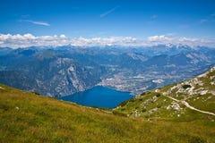 Доломиты - Lago di Garda Стоковая Фотография