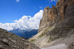 Доломиты - Madona di Campiglio Стоковая Фотография