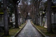 До-lachaise кладбище Стоковое Изображение RF