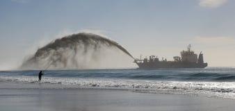 Драгировать с Квинсленда Gold Coast стоковая фотография rf