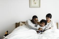 Драгоценное время семьи Стоковые Изображения RF