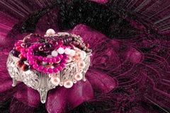 драгоценности ларца Стоковое Изображение RF