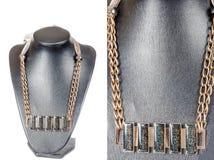 Драгоценность красивой стильной handmade женской винтажной моды красочная Стоковая Фотография