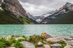 Драгоценность скалистых гор в Канаде, Lake Louise Стоковое Фото