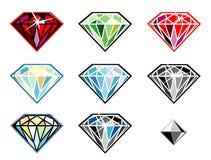 драгоценные камни sparkle Стоковое Изображение