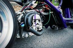 Драка Honda Звездных войн тематическая стоковое изображение