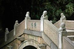 драконы китайца моста Стоковое Изображение