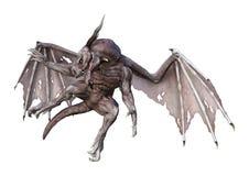 дракон вампира фантазии перевода 3D на белизне Стоковое Изображение RF