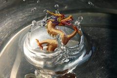 Дракон воды верхней части ` s Китая стоковое изображение