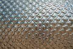 дракон вычисляет по маштабу серебряную текстуру Стоковая Фотография