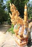 Дракон в виске Таиланде Будде Стоковая Фотография RF