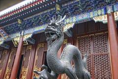 Дракон в запретном городе Стоковая Фотография RF