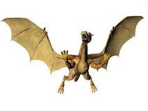 дракон золотистый бесплатная иллюстрация