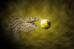 дракон имперский Стоковое Изображение