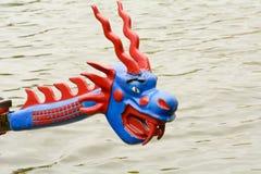 Дракон на смычке шлюпки дракона Стоковая Фотография RF
