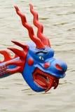 Дракон на смычке шлюпки дракона Стоковые Изображения RF