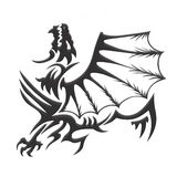 дракон одно Стоковое Изображение