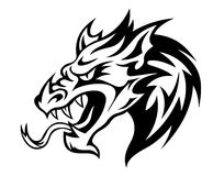 дракон опасности Стоковая Фотография