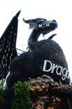 Дракон робота железный Стоковая Фотография RF