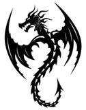 Дракон татуировки племенной Стоковая Фотография RF