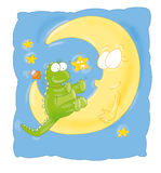 Дракон луны Стоковые Фото