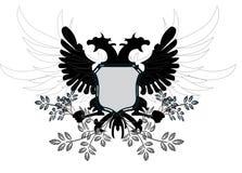 дракон флористический иллюстрация вектора