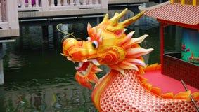 дракон шлюпки Стоковое Фото