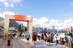 дракон 2012 масленицы шлюпки Hong Kong Стоковая Фотография