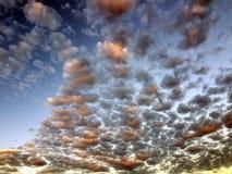Драматическая предпосылка облака стоковое изображение rf