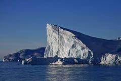 драматический айсберг Гренландии Стоковое Изображение