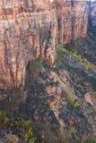 Драматический ландшафт на Сионе стоковое изображение rf