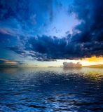 драматический ландшафт Стоковая Фотография