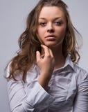 драматический портрет Стоковая Фотография