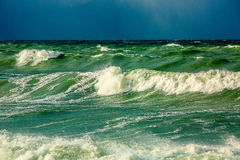 Драматический шторм Стоковая Фотография RF