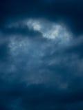 Драматическое небо грозы Стоковые Фотографии RF