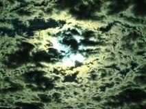 Драматическое небо над Небраской стоковое изображение