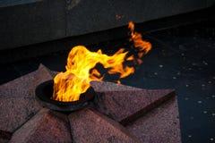 драматическое пламя quenchless Стоковые Фото