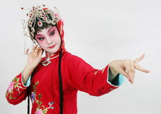 драма актрисы Стоковое Изображение