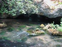 Драма Греция пещеры Aggitis стоковое изображение rf