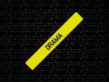 ДРАМА - изображение при слова связанные с КИНО темы, слово, изображение, иллюстрация стоковая фотография