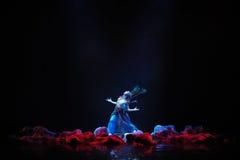 Драма танца лучников- стоковое изображение