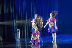 Драма танца танца 5-Lilac ванны Li стоковые фото