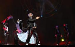 драма танцульки выравнивая известное венгерское самомоднейшее Стоковые Фото