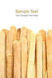 древесина белизны ручки льда предпосылки cream Стоковая Фотография RF