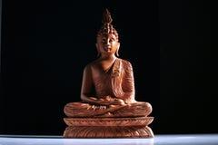 древесина Будды Стоковое Изображение