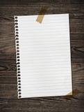 древесина бумажной ленты Стоковое Фото