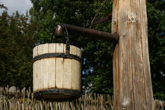 древесина ведерка стоковые фото